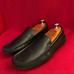 Lacoste Men's Leather Loafers Size 10